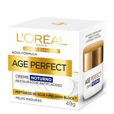 Rejuvenescedor Facial L'Oréal Paris Age Perfect Noturno Dermo Expertise - 49g