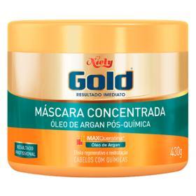 Niely Gold Óleo de Argan Pós Química - Máscara de Hidratação Profunda - 430g