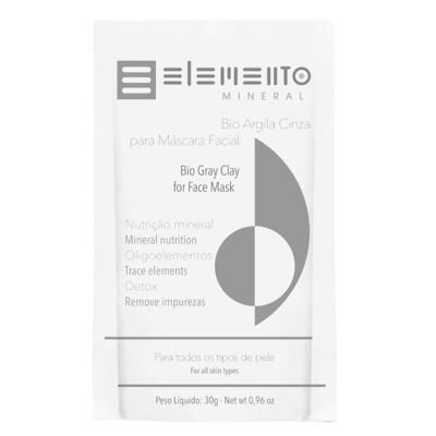 Máscara Facial Elemento Mineral - Argila Cinza - 30g