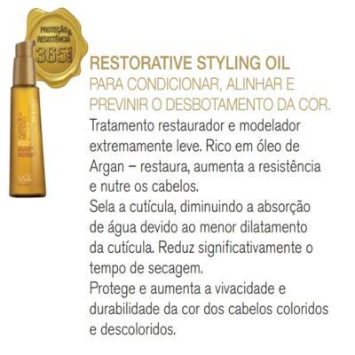 Imagem 3 do produto Joico K-Pak Color Therapy Restorative Styling Oil Modelador - Joico K-Pak Color Therapy Restorative Styling Oil Modelador 100ml