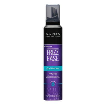 Imagem 1 do produto John Frieda Frizz Ease Curl Reviver - Mousse Modeladora - 205g