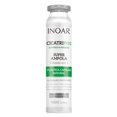 Imagem 1 do produto Super Ampola Inoar - CicatriFios Botânico & Vegano - 45ml