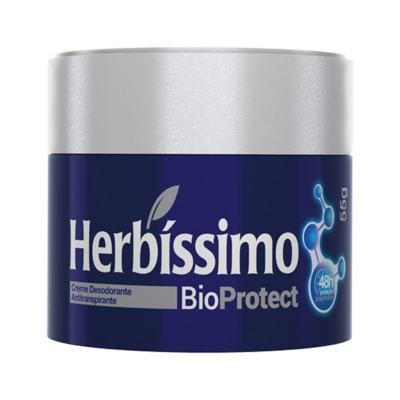 Desodorante Creme Herbíssimo Bio Protect Cedro 55g