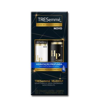 Kit Tresemmé Shampoo 400ml + Condicionador 200ml - Hidratação Profunda