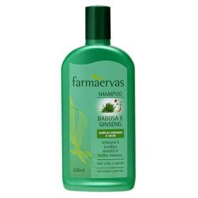 Farmaervas Babosa e Ginseng - Shampoo - 320ml