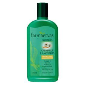 Farmaervas Camomila e Amêndoas - Shampoo - 320ml