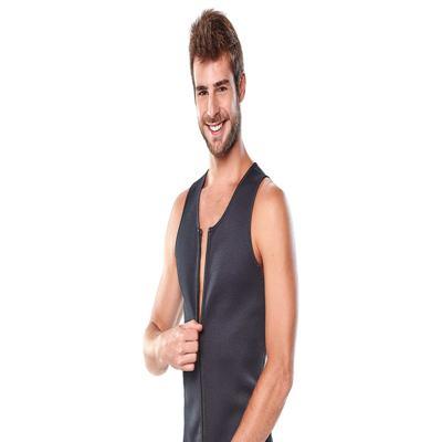 Modelador Fitnow Zip Masculino Polishop - | PRETO M