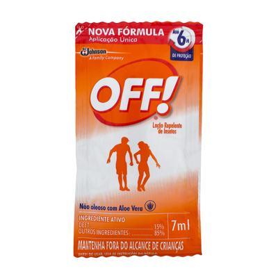 Imagem 1 do produto Repelente Off! Family Sachê 7ml