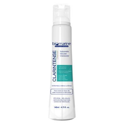 Sabonete Mousse Clareador Biomarine - Clarintense Cleanser - 140ml
