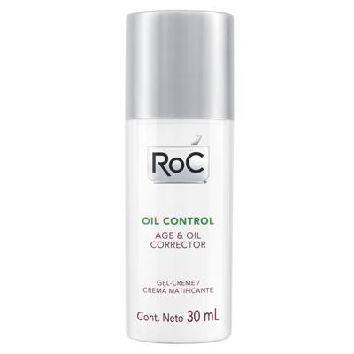 Tratamento Anti-Idade Roc - Oil Control Age & Oil Corrector - 30ml