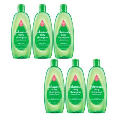 Imagem 4 do produto Kit Johnson Baby - Shampoo para Cabelos Claros - Kit