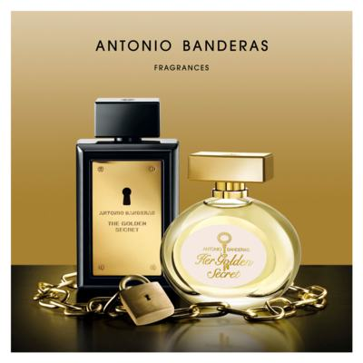 Imagem 4 do produto Her Golden Secret Antonio Banderas - Perfume Feminino - Eau de Toilette - 80ml