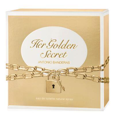Imagem 3 do produto Her Golden Secret Antonio Banderas - Perfume Feminino - Eau de Toilette - 50ml