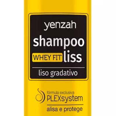 Imagem 3 do produto Yenzah Whey Fit Liss Supremo - Shampoo Alisante - 365ml