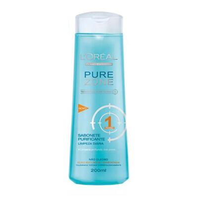 Imagem 2 do produto Kit Adstringente Anti-Cravos + Hidratante Facial + Limpador Facial L'Oréal Paris Pure Zone - Kit