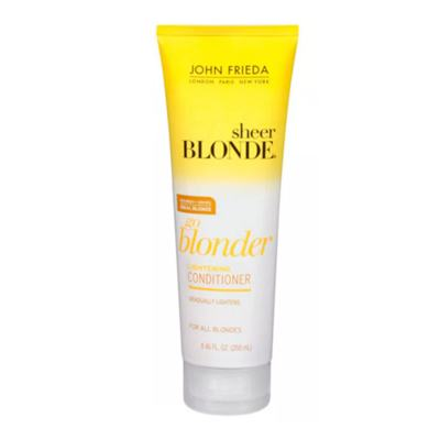 Imagem 3 do produto Kit Shampoo + Condicionador John Frieda Sheer Blonde Go Blonder Lightening - Kit