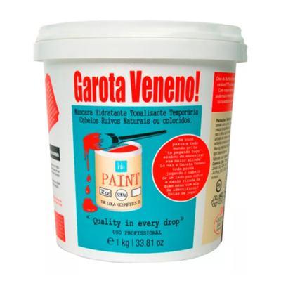 Imagem 2 do produto Kit Máscara + Shampoo Lola Cosmetics Garota Veneno! + Lola Colors - Kit