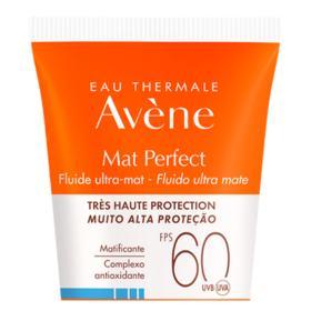 Protetor Solar Avène - Mat Perfect FPS 60 Sem Cor   50ml