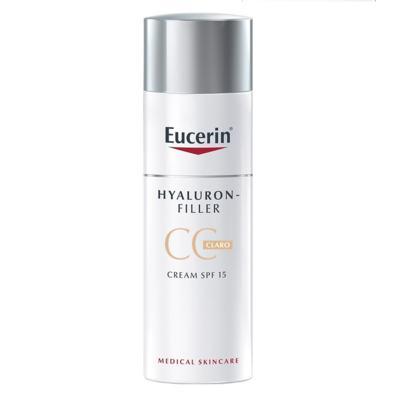 Imagem 1 do produto CC Cream Eucerin Hyaluron-Filler - FPS 15, Claro, 50mL - 50mL
