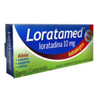 Imagem 4 do produto Loratadina - Loratamed Comprimido - 10mg, caixa com 12 comprimidos - Cimed -