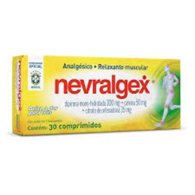 Imagem 1 do produto Nevralgex 300mg 30 comprimidos cimed