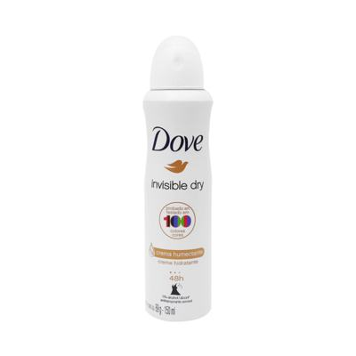 Desodorante Antitranspirante Dove Feminino - Invisible Dry Aerosol | 150ml