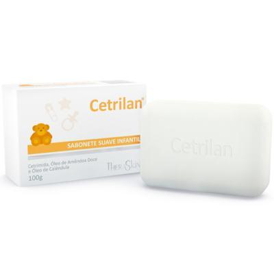 Sabonete Infantil Theraskin Cetrilan 100 G