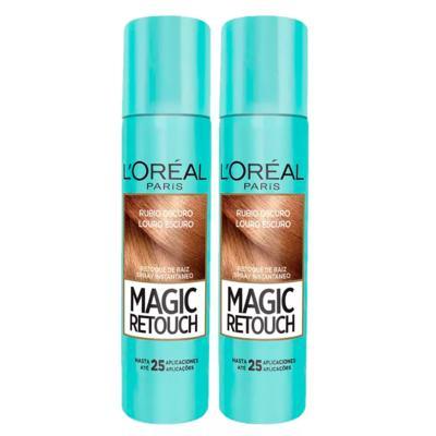 Imagem 3 do produto L'Oréal Paris Magic Retouch + Ganhe Cicatri Renov Kit - Leave-In + 2 Corretivos Capilar Louro Escuro - Kit