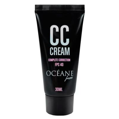 Imagem 3 do produto Océane Light My Face + Complete Correction Kit - Iluminador Facial + CC Cream - Kit