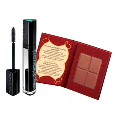 Imagem 1 do produto Bourjois Poudre Bronz Delice + Volume Reveal  Kit - Pó Compacto Bronzeador + Máscara para Cílios - Kit