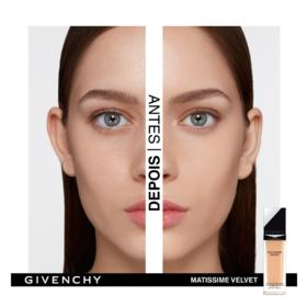 Base Facial Givenchy - Matissime Velvet Fluid - 02 - Mat Shell