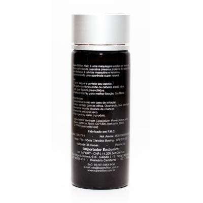 Imagem 4 do produto Super Billion Hair - Disfarce para a Calvície 8g - Loiro