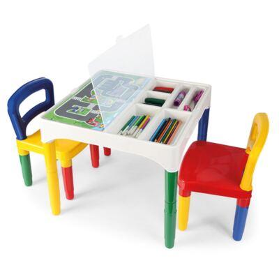 Mesinha Didática Infantil com Cadeiras 5825 - Poliplac