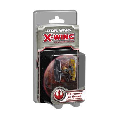 Jogo TIE Fighter de Sabine Expansão Star Wars X-Wing SWX059 - Galápagos Jogos