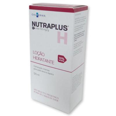 Imagem 1 do produto NUTRAPLUS H 10% LOÇÃO HIDRATANTE - 120ML
