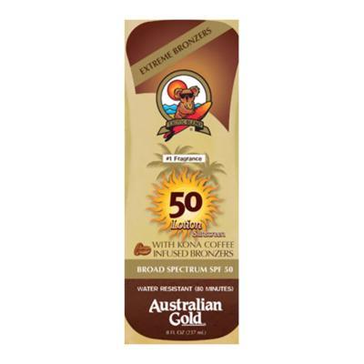 Imagem 2 do produto Kona Coffee Instant Bronzers SPF 50 Australian Gold - Protetor Solar - 237ml