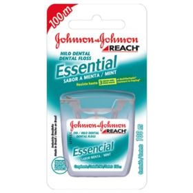 Fio Dental Johnsons Reach - Essencial Menta | 40mt