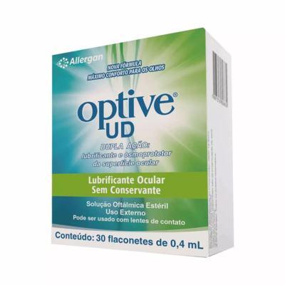 Optive UD Solução Oftálmica 30 Flaconetes de 0,4ml
