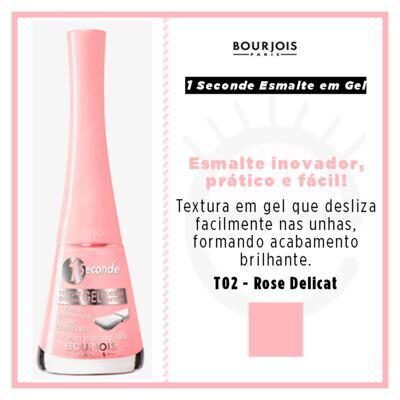 Imagem 4 do produto 1 Seconde Gel Bourjois - Esmalte - T02 - Rose Delicat