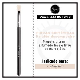 Pincel Esfumador Sigma Beauty E25 Blending Brush - 1 Un