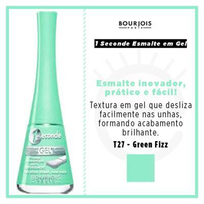 Imagem 4 do produto 1 Seconde Gel Bourjois - Esmalte - T27 - Green Fizz