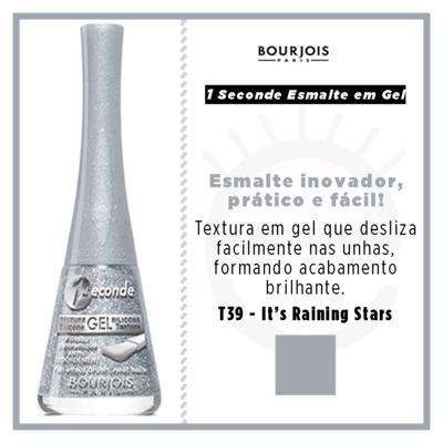 Imagem 9 do produto 1 Seconde Gel Bourjois - Esmalte - T39 - its Raining Stars