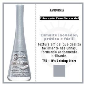 1 Seconde Gel Bourjois - Esmalte - T39 - its Raining Stars