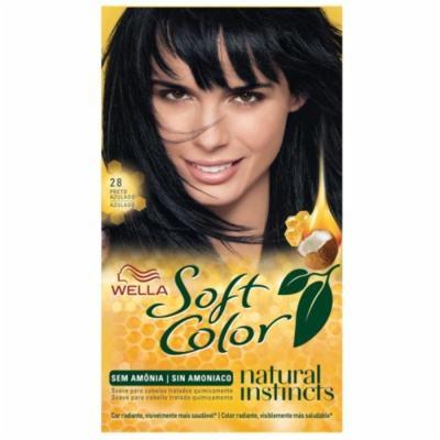 Kit Soft Color - Preto Azulado 28   125g