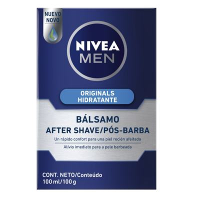 Imagem 1 do produto Pós-Barba Nivea Bálsamo Hidratante 100ml