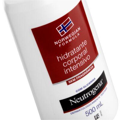 Imagem 3 do produto Hidratante Corporal Intensivo Neutrogena Norwegian Sem Fragrância 500ml