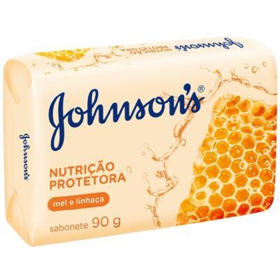 Imagem 1 do produto Sabonete Johnson's Mel e Linhaça 90g