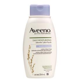 Sabonete Líquido Aveeno Daily Moisturizing - Lavanda e Ylang-Ylang | 354ml