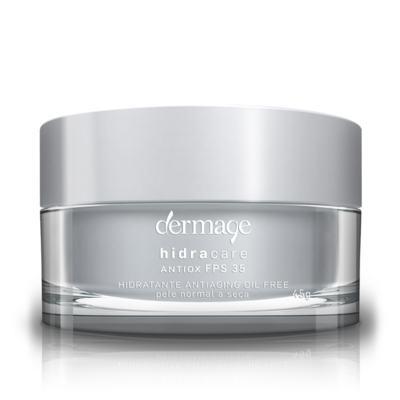 Imagem 2 do produto Hidratante Facial Dermage Hidracare Antiox FPS 35 Oil Free 45g