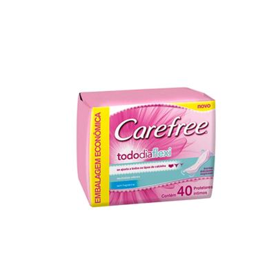 Imagem 1 do produto Protetor Diário Carefree Todo Dia Flexi sem Perfume 40 Unidades